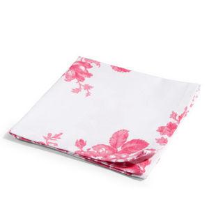 Maisons du monde - serviette roseraie - Serviette De Table