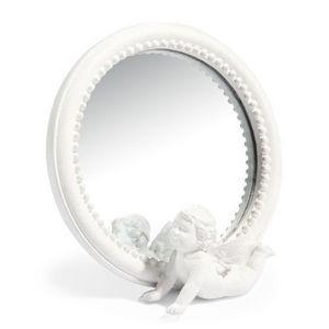 Maisons du monde - miroir angel blanc - Miroir