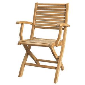 Maisons du monde - fauteuil pliant oléron - Fauteuil De Jardin