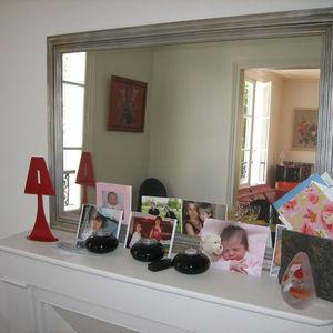 Fenel & Arno - bougeoir lampe en métal rouge chandelier electic - Bougeoir