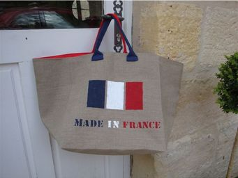 L'atelier D'anne - cabas en lin made in france - Sac