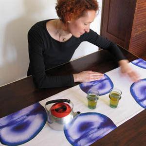 TROIS MAISON - chemin de table fruit raisin - Chemin De Table