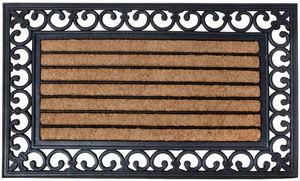 BEST FOR BOOTS - paillasson en caoutchouc et coco 75,5x45,5x1cm - Paillasson