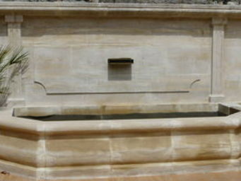 Marbrerie Rouillon -  - Fontaine Murale D'extérieur