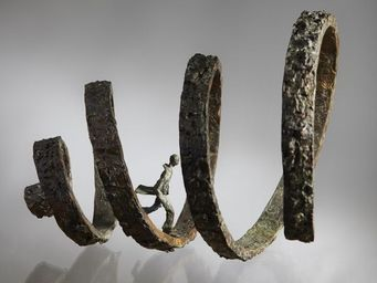 LUSSOU - taille 180/100/100 - Sculpture