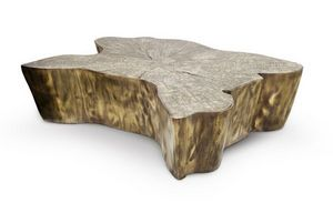 BOCA DO LOBO - eden patina - Table Basse Ovale
