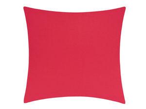 BLANC CERISE - taie d'oreiller carrée - percale (80 fils/cm²) -b - Taie D'oreiller