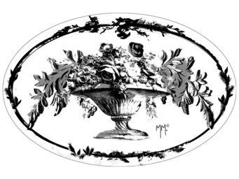 Mathilde M - savon vasque fleurie, parfum fleur de coton (fabri - Savon