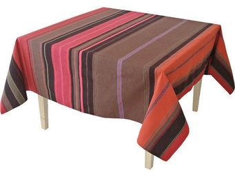 Les Toiles Du Soleil - nappe rectangulaire tsar rouge - Nappe Rectangulaire
