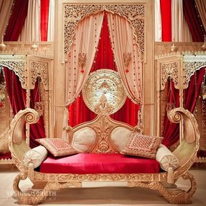 DECO PRIVE - trone royal indien - Décor Évènementiel