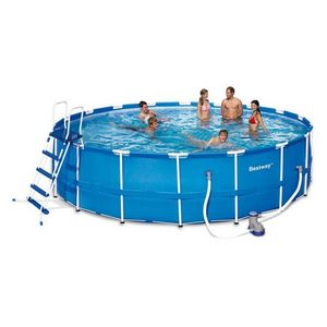 Bestway - piscine frame pool set - 549 x 122 cm - Piscine Hors Sol Autoportante
