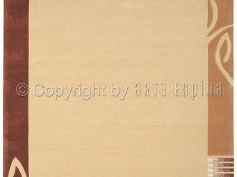 Arte Espina - tapis de salon easy going 3 beige 140x200 en acryl - Tapis Contemporain
