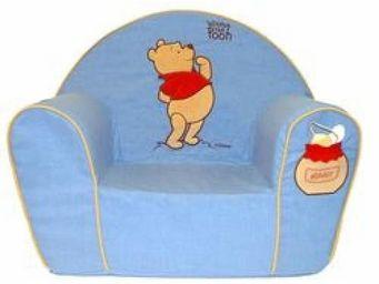 DISNEY - fauteuil club winnie l'ourson - Fauteuil Enfant