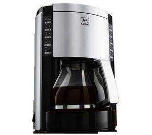 Melitta - cafetire look deluxe iii noir/argent m652-020304 - Cafetière Filtre