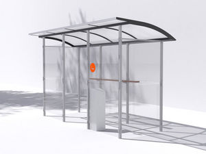 MM CITÉ - smokers - Abri Fumeurs
