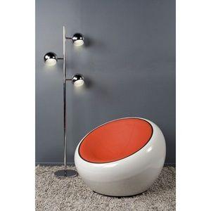 KOKOON DESIGN - fauteuil de salon design fibre de verre new york - Fauteuil