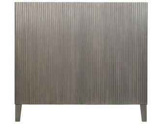BLANC D'IVOIRE - audrey gris foncé - Tête De Lit