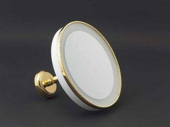 Cristal Et Bronze -  - Miroir Grossissant