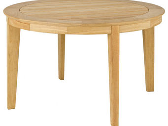 Alexander Rose - table ronde tivoli en roble fsc 125x73cm - Table De Jardin