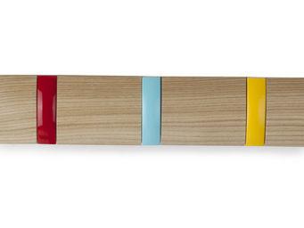 Umbra - porte manteaux flip multicolore 3 crochets 33x7x4c - Portemanteau