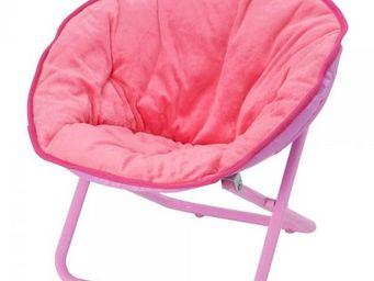 La Chaise Longue - moon chair kid rose - Fauteuil Enfant