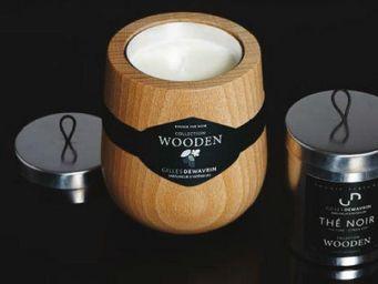 Gilles Dewavrin - wooden - Bougie Parfum�e