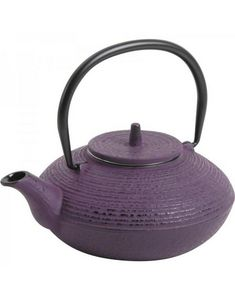 Aubry-Gaspard - théière 0.7l en fonte violette - Théière