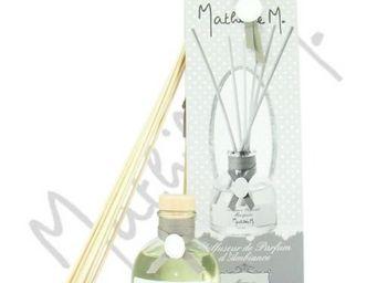 Mathilde M - diffuseur de parfum d'ambiance tiges de rotin - c - Diffuseur De Parfum Par Capillarité