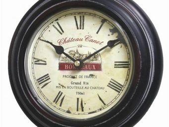 L'HERITIER DU TEMPS - horloge murale style usine ø21cm - Horloge Murale