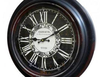 L'HERITIER DU TEMPS - horloge murale en fer ø45cm - Horloge Murale