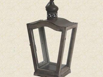 L'HERITIER DU TEMPS - grande lanterne vieux bois - Lanterne D'extérieur