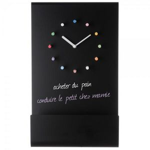 La Chaise Longue - horloge tableau + craies - Pendule Murale