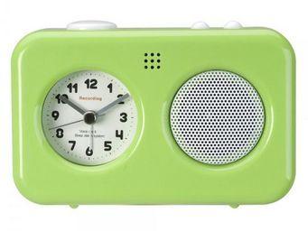 La Chaise Longue - réveil mémo vert - Réveil Matin
