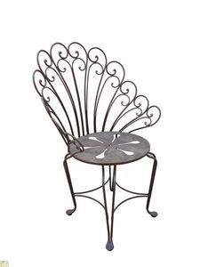 Fd Mediterranee - fleur - Chaise De Jardin