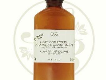 Savonnerie De Bormes - lait corporel aux huiles essentielles - lavande ol - Lait Corporel