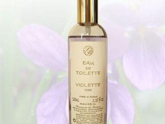 Savonnerie De Bormes - eau de toilette - violette - 100 ml - savonnerie d - Eau De Toilette