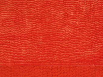 BLANC D'IVOIRE - cesar orange brûlé - Jet� De Lit