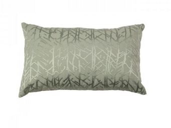 BLANC D'IVOIRE - forest sauge - Coussin Rectangulaire