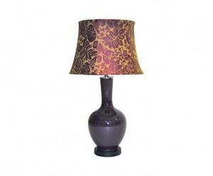 Demeure et Jardin - lampe aubergine - Lampe À Poser