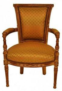 Demeure et Jardin - fauteuil directoire - Fauteuil