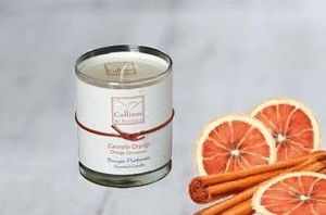Collines De Provence - cannelle orange - Bougie Parfum�e