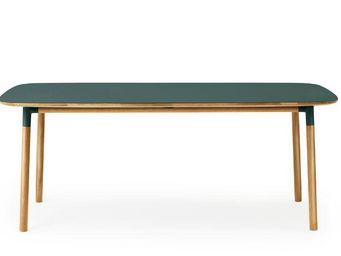 Normann Copenhagen - form table  - Table De Repas Rectangulaire