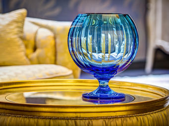 Moser -  - Vase À Fleurs