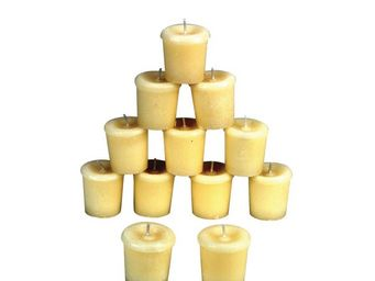 Interior's - boites 12 bougies ivoires - Bougie