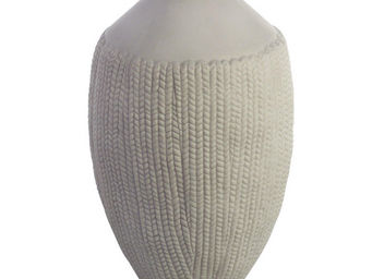 Interior's - vase en porcelaine tress�e pm - Soliflore