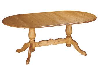Interior's - table ovale à allonges - Table De Repas Ovale