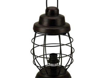 Interior's - lampe esprit lanterne - Lampe � Poser
