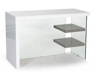 WHITE LABEL - bureau space blanc laqué - Bureau