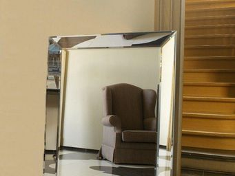 WHITE LABEL - keops miroir mural design grand modèle - Miroir