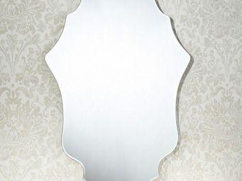 WHITE LABEL - miss miroir mural design en verre - Miroir